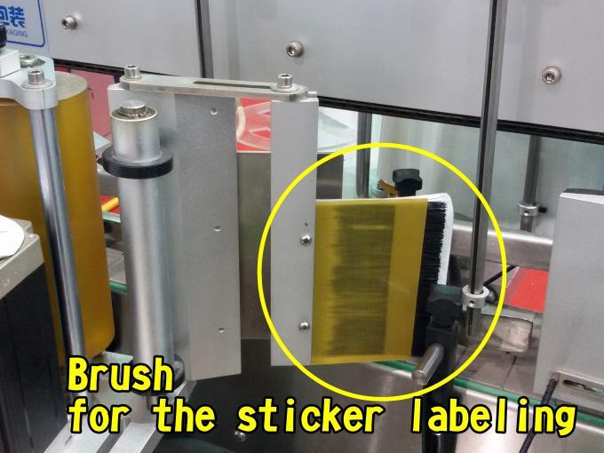 Platt yta Automatisk märkningsmaskin för väskor Fabrikshöghastighet 60 - 350 st / min
