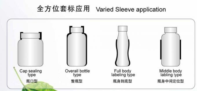Flaska rostfritt stål krymphylsa märkningsmaskin Krymphylsa applikator