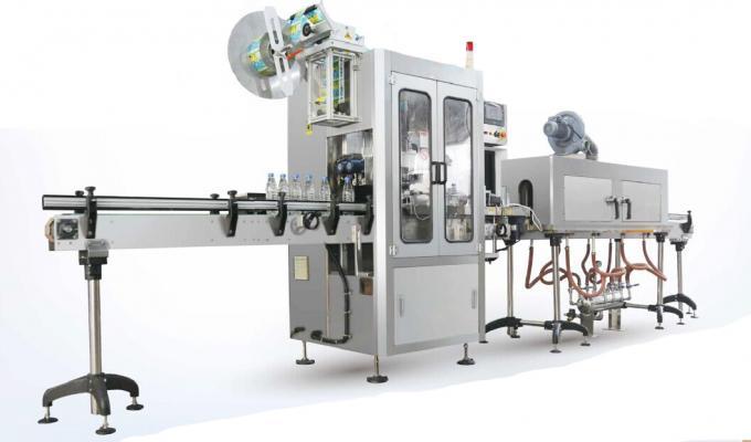 Nature Spring Water Shrink Sleeve Labelling Machine / Shrink Sleeve Applicator Machine