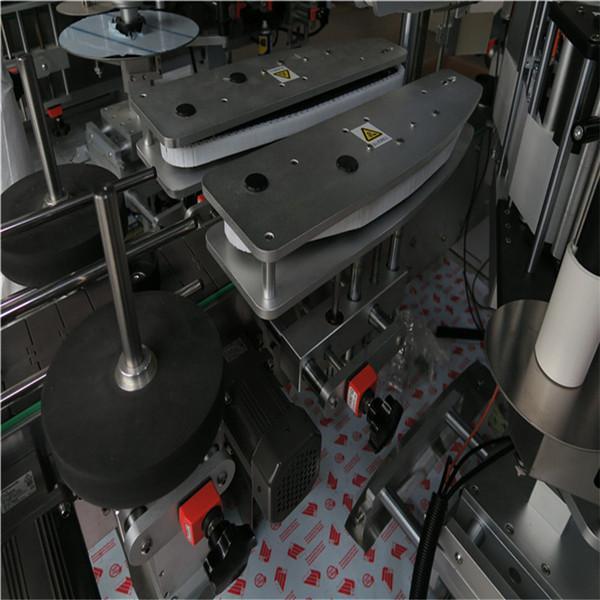 Fyrkantiga och runda flaskor automatiserad märkningsmaskin 50Hz 2300W kraftsystem