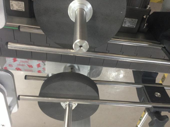 Flaskmärketikettapplikator, självhäftande märkningsmaskin för klistermärke