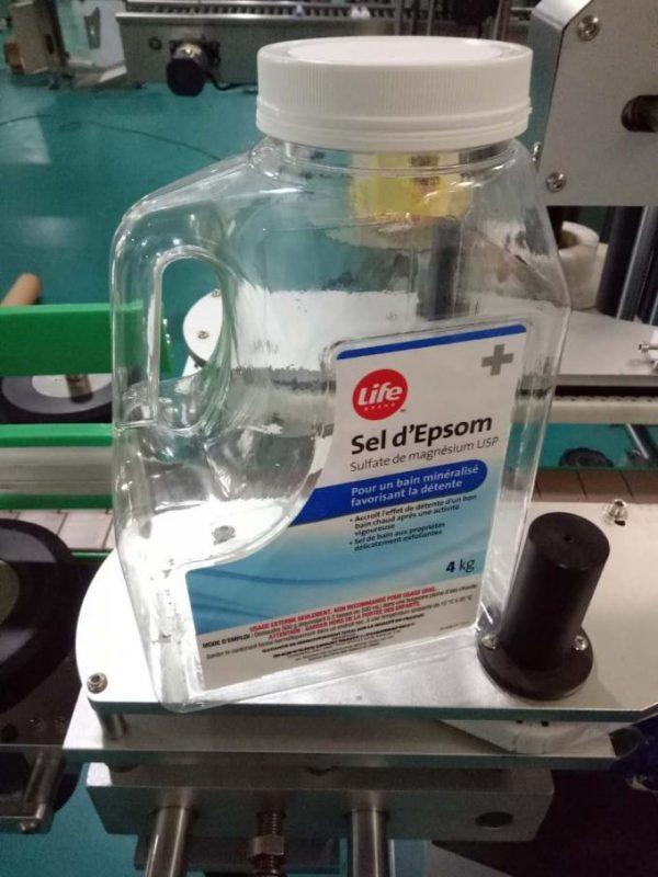 Anpassad vattenflaskmärkningsmaskin, automatisk bänkmärkningsmaskin för dubbelsidor