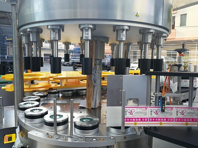 Höghastighets roterande klistermärke märkningsmaskin med rotationsfunktion