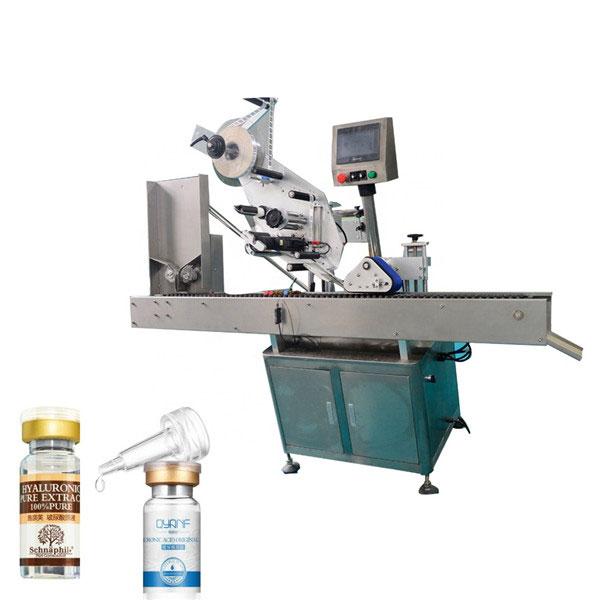 Aluminiumlegering Opp Vial industriell märkningsmaskin för rund flaska