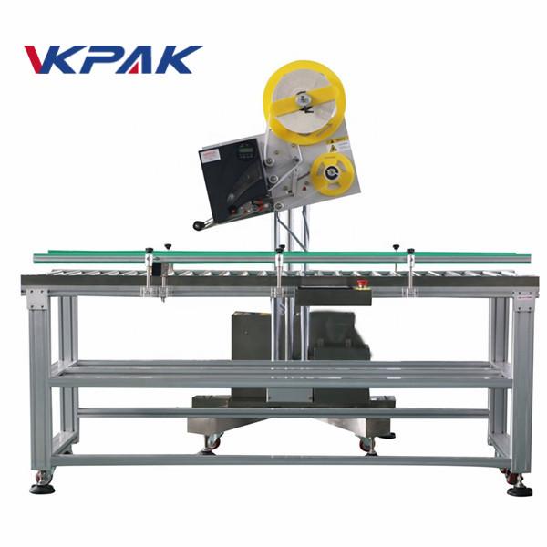 Auto kuvert industriell etikettapplikator för papperslåda i liten skala