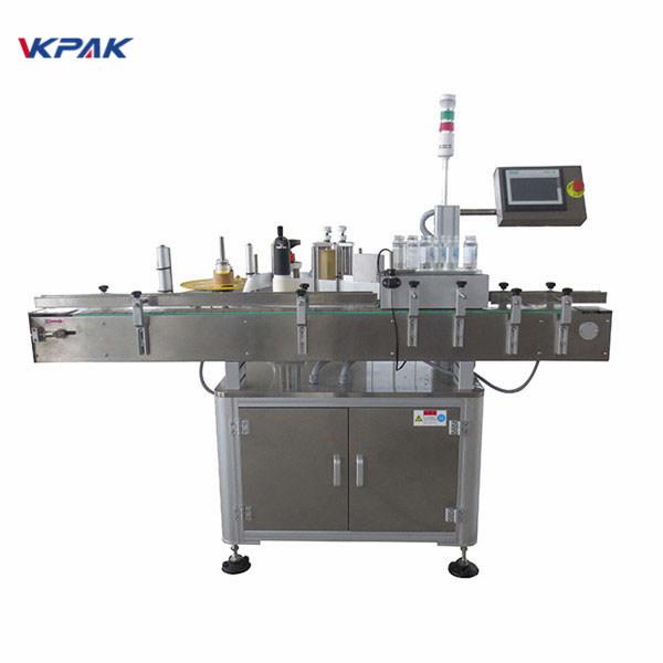 Automatisk klistermärkeapplikatormaskin för ölflaska 220V 1,5H
