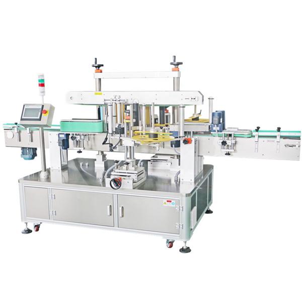 Märkningsmaskin med dubbelsidig etikett, automatisk applikatormaskin för etiketter