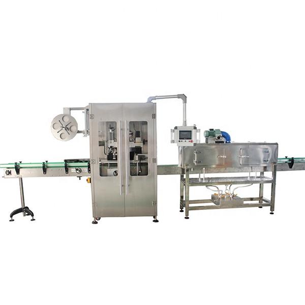 Dubbelsidig märkningsmaskin för krymphylsa i rostfritt stål för olika flaskor
