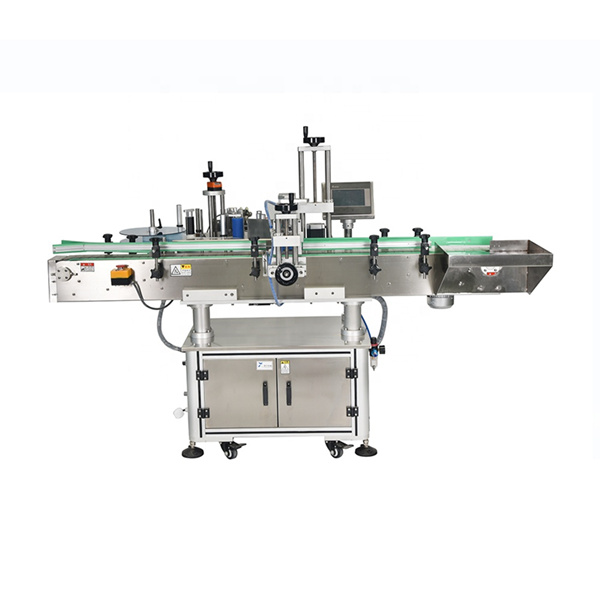 Intelligent PLC-styrning Automatisk dubbelsidig etiketteringsmaskin