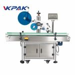 Etikettapplikatormaskin för märkning av platt skalytan