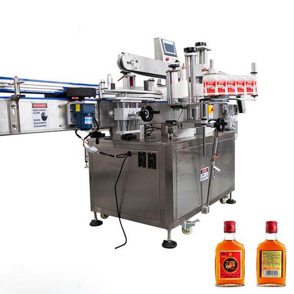 Märkningsmaskin för koppar och runda flaskor Helautomatisk stick