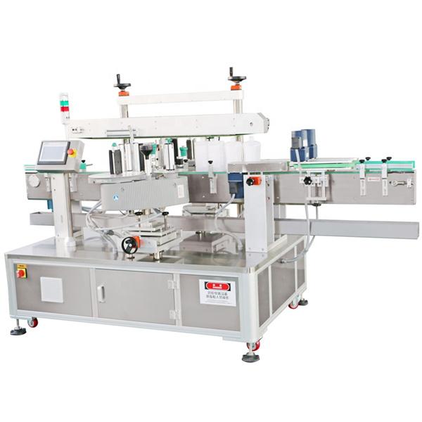 Maskinoljemärkesmaskin för etikettapplikator för tvättmedel
