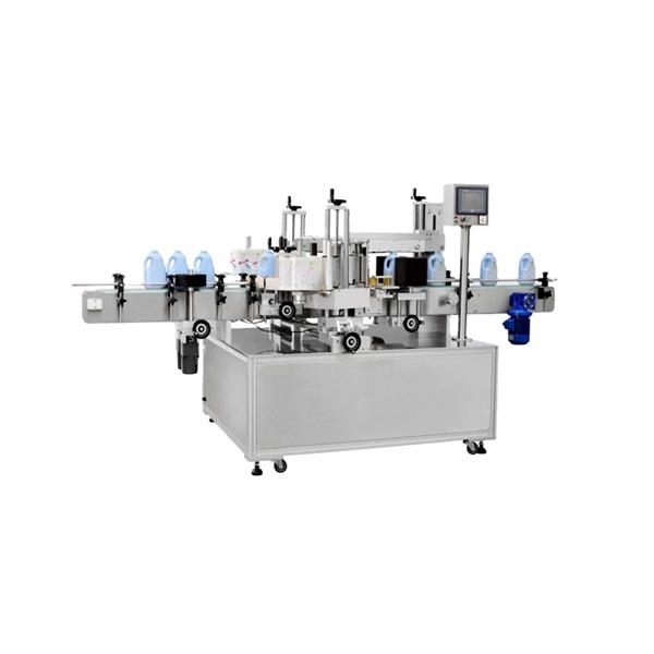 Multifunktionell fyrkantig flaskmärkningsmaskin