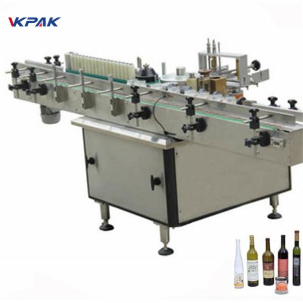 Lim- och kalllimapplikatormaskin för olika flaskor automatiskt