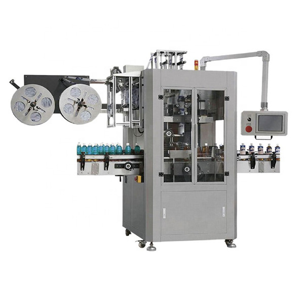 Pet Bottle Pre Position Shrink Sleeve Labelling Machine
