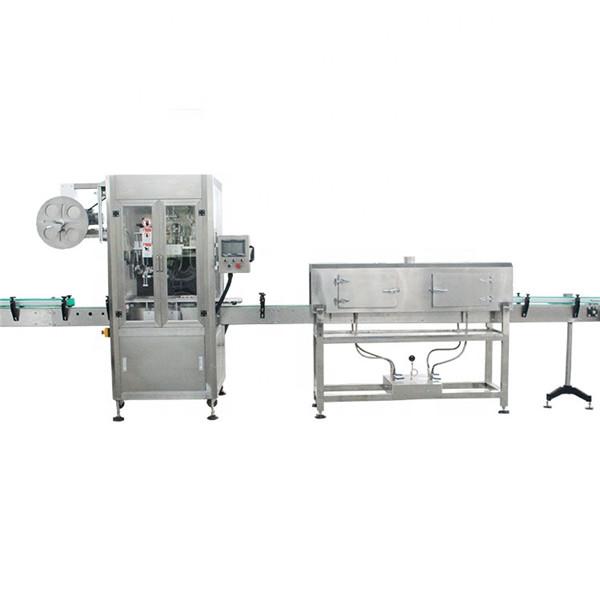 Plastkopp med hög hastighet krymphylsa märkningsmaskin med ånggenerator