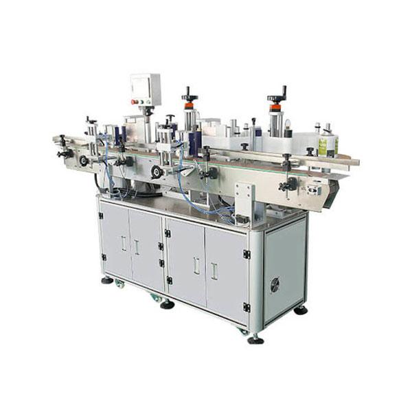 Schampo kosmetisk flaskdekal märkningsmaskin 30-100 mm behållarlängd