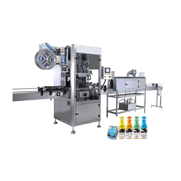 Appliceringsmaskin för krymphylsa för vattenflaskor av plast 100 BPM