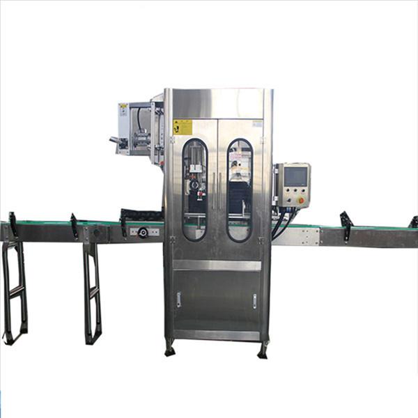 Liten kapacitet Krymphylsaetikettapplikator Rund flaskkrympmärkningsmaskin
