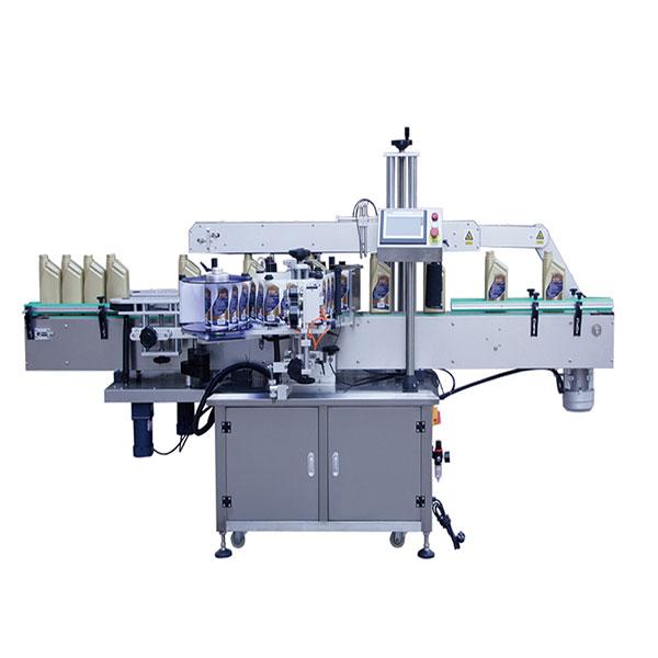 Fyrkantig flaskmärkning maskin