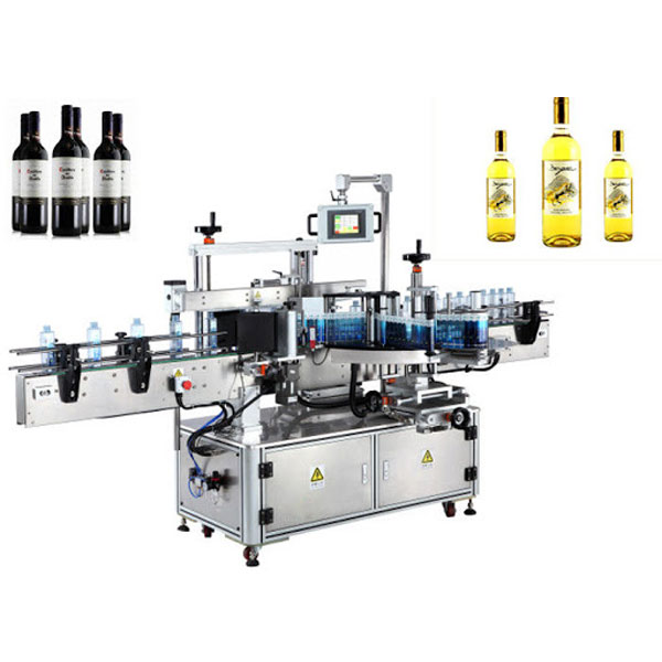 Maskiner för märkning av vinflaskor