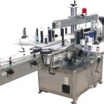 Hög hastighet dubbel sida hydraulisk olja klistermärke maskin