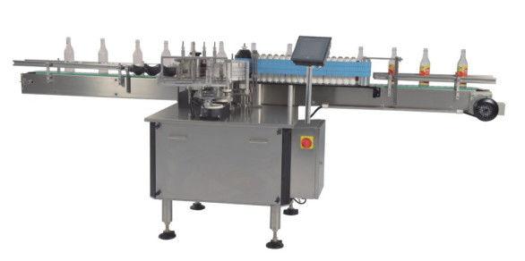 Kina Hot Melt Bopp / Wet Lim Automatisk platt etikettapplikator för flaskor CE-certifikat leverantör