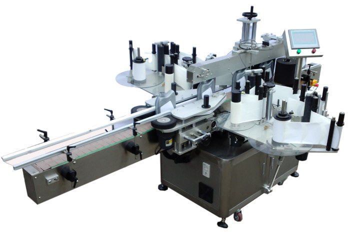 SUS304 Etikettmaskin för rostfritt stål, ekonomisk dubbel sida