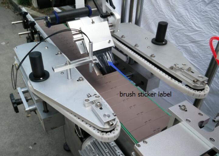 Automatisk rund flaskdekal märkningsmaskin för ölflaskor
