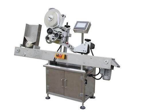 Horisontell etikett för etikettmaskin för kulspetsflaska