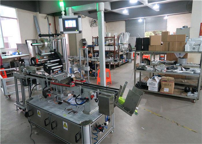 Kina Auto Top Märkningsmaskin Flat Yta Etikettapplikator med transportör / Top Märkningsutrustning leverantör