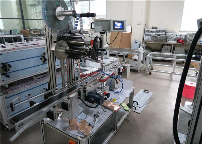 Kina 1-50m / min Speed Top Label Applicator-utrustning för plana ytor leverantör