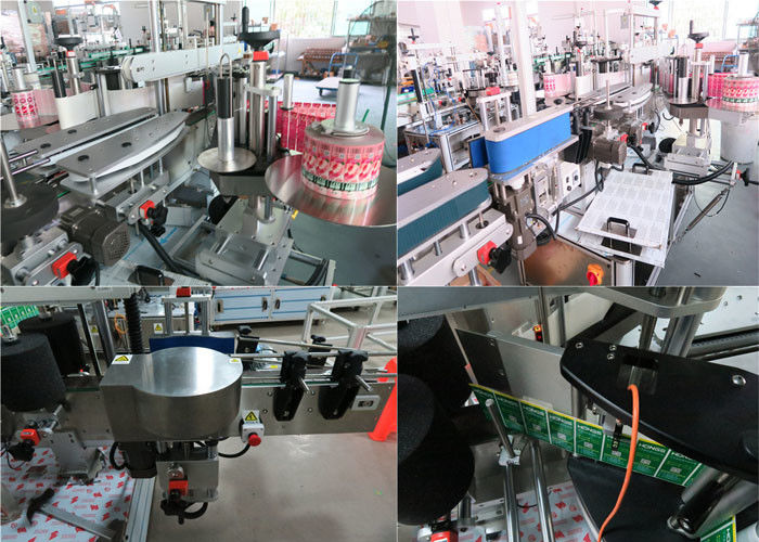 Dagliga flaskor Märkningsmaskin fram och bak, Burk märkningsmaskin