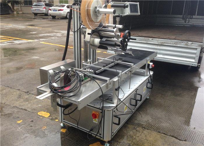 High Speed Rollers Top Sticker Label Machine Step Motor Control