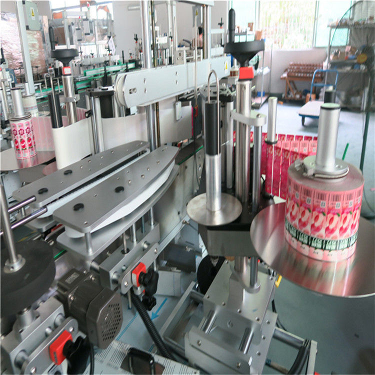 Kina främre bakre automatiska klistermärke Maskin Självhäftande 330 mm max yttre diameter leverantör