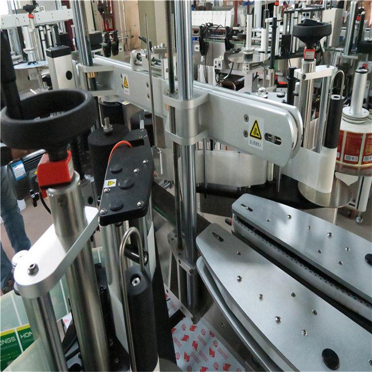 Automatiserad etikettapplikator för rund / fyrkantig / subuliform flaska