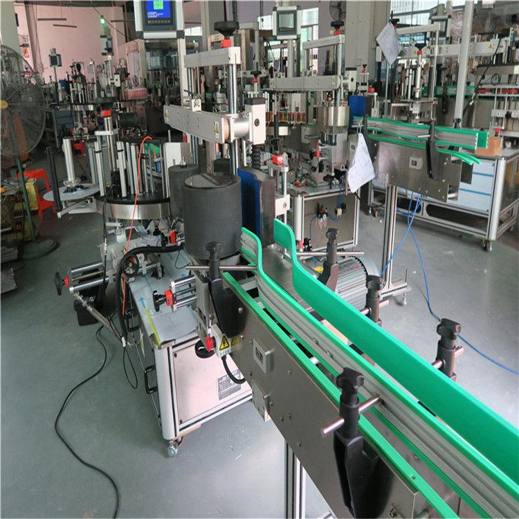 Dubbelsidig självhäftande klistermärke Flaskmärkningsmaskin 190 mm höjd max