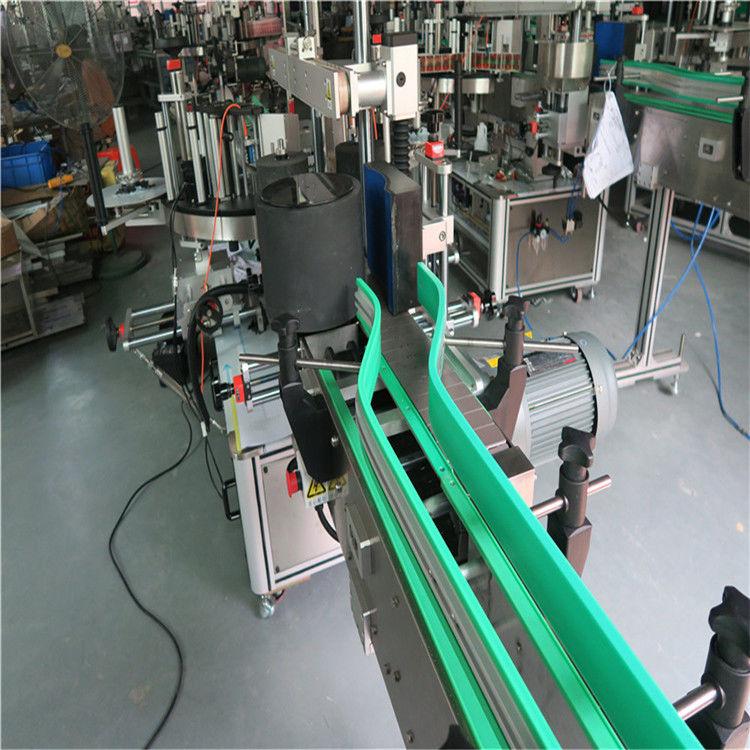 Två automatiska märkningsmaskiner med dubbelsidig etikett 6000-8000 B / H