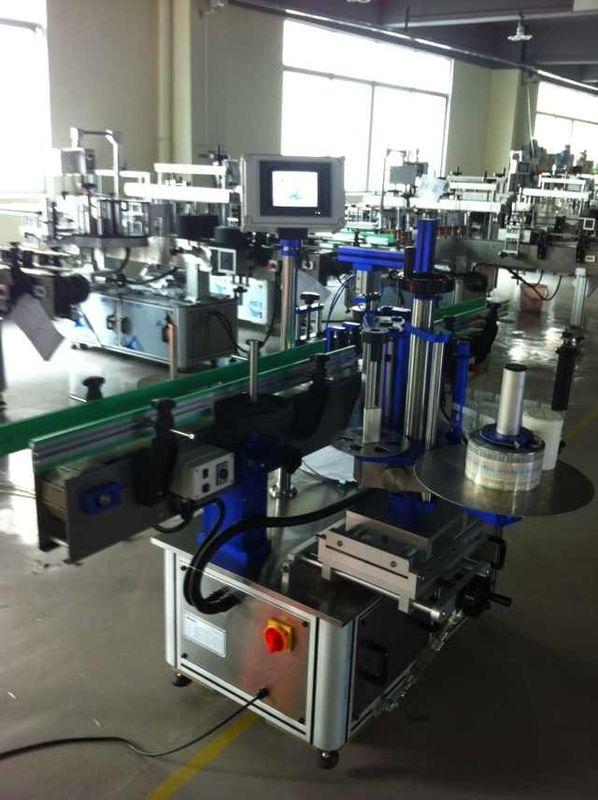 Full automatisk etikettapplikator för etiketter, flaskmärkningsmaskin