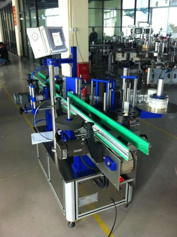 Kina 1500W Power Round Bottle Labelling Machine för dryck / mat / kemisk leverantör