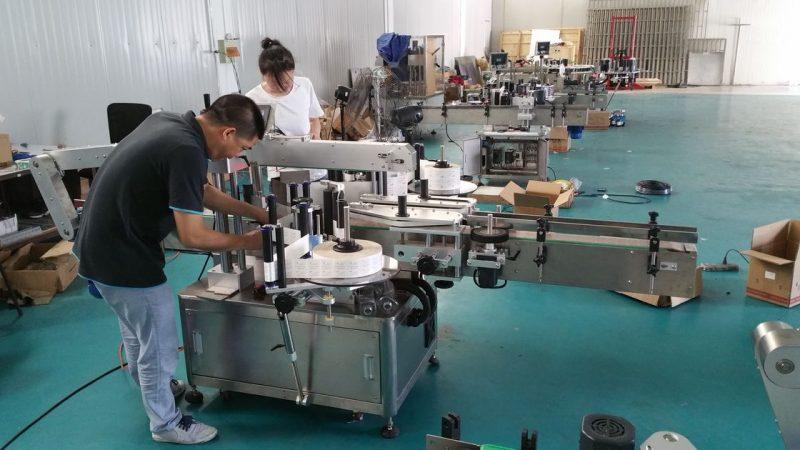 Kina Anpassad vattenflaskmärkningsmaskin, automatisk bänkmärkning för dubbelsidiga leverantörer