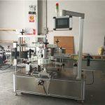 Helautomatiska typer av rund flaskdekaler märkningsmaskin hög effektivitet
