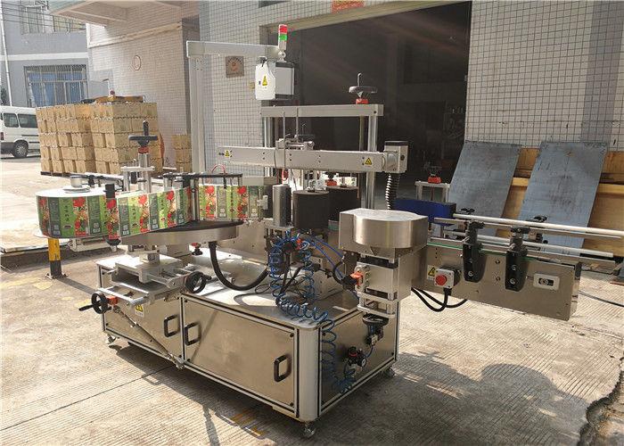 Kina platt flaskmärkningsmaskin 3048mm x 1700mm x 1600mm Yttre leverantör av utrustning