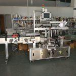 Självhäftande klistermärke Flat Bottle Labelling Machine High Speed 5000-1000B / H