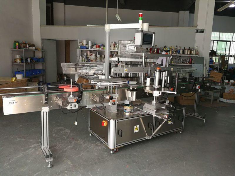 Kina högprecisions multifunktionell platt flaskmärkning maskin elektrisk driven leverantör