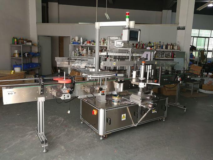 Självhäftande fram- och baksida märkningsmaskin med dubbelsidig höghastighet 5000-8000B / H