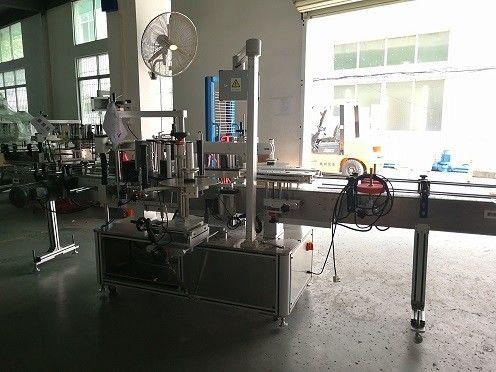 Kina helautomatisk självhäftande etikettapplikatorutrustning med dubbelsidig leverantör