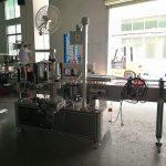 Helautomatisk självhäftande etikettapplikatorutrustning dubbel sida
