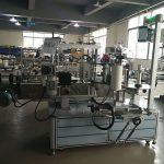 Automatisk klistermärkesmaskin för fyrkantig, automatisk etikettapplikatormaskin