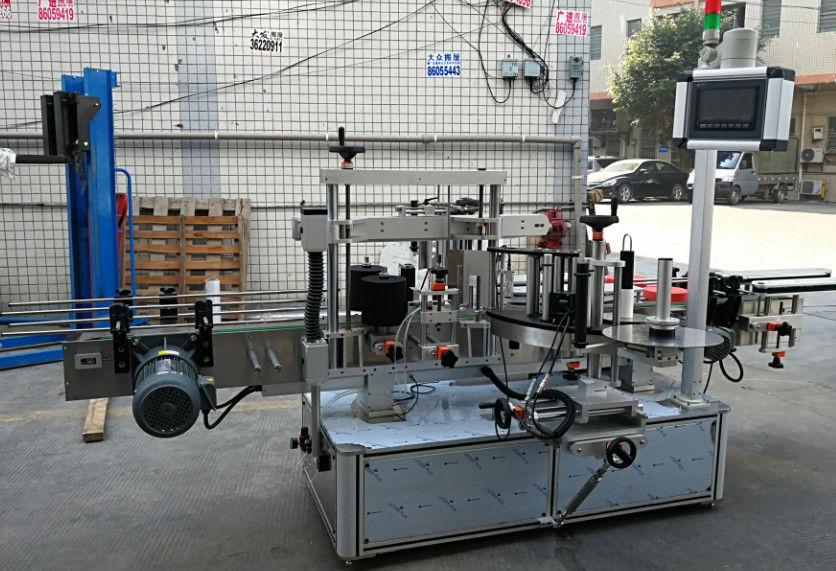 Helautomatisk självhäftande etikettapplikatormaskin för flaskor